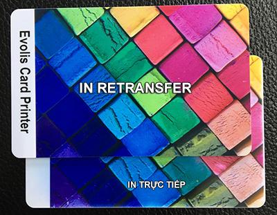 công nghệ in thẻ chuyển nhiệt retransfer
