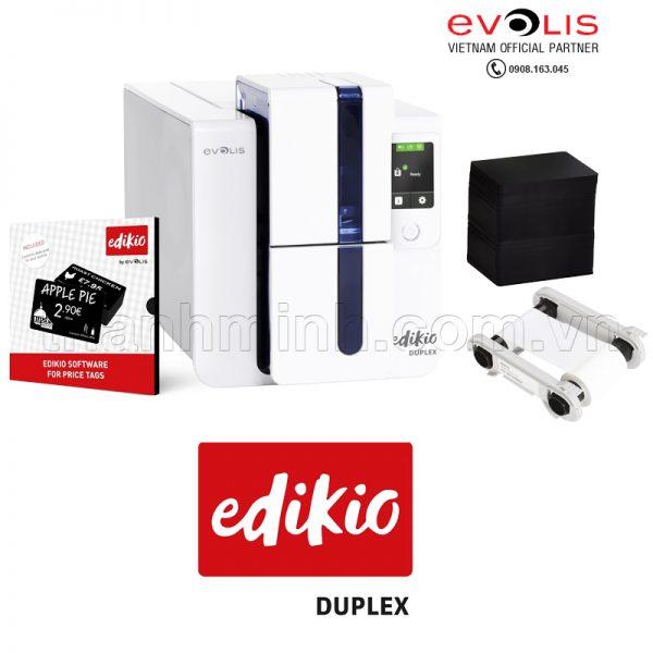 Máy in thẻ nhựa Evolis EDIKIO DUPLEX